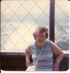 Grandma at Niagara Falls