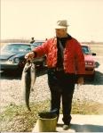 Grandpa with fish