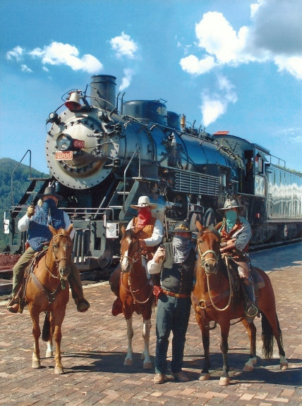 Outlaws on Grand Canyon Train