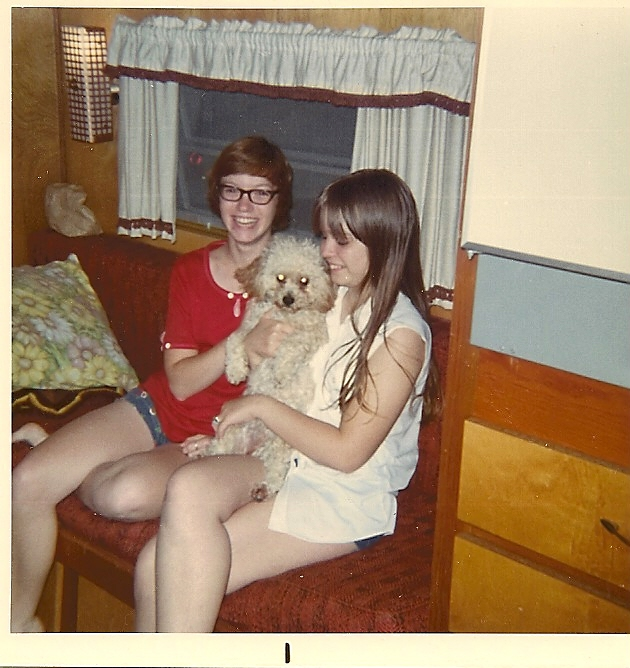 Camping_Sharon_Kim_Buffy_about 1972