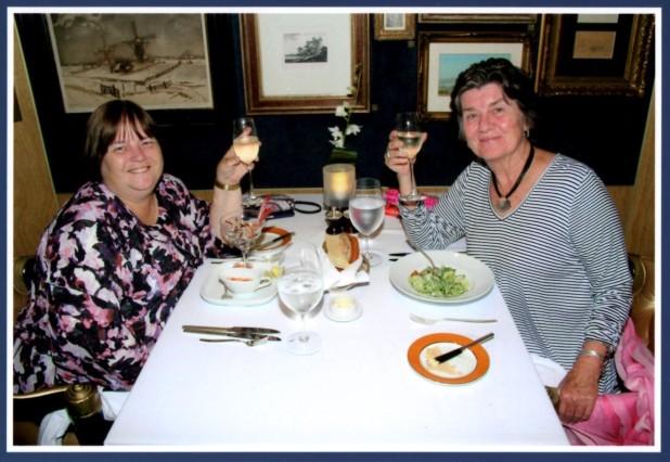 Kim and Pat at Pinnacle Grill